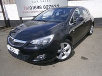 USED 2010 10 VAUXHALL ASTRA 1.6 SRI 5dr AFFORDABLE MID SIZE 5dr HATCH