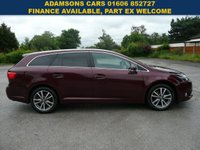 USED 2013 62 TOYOTA AVENSIS 2.0 TR D-4D 5d 124 BHP Drives Superb,Great Spec,Sat Nav,Only £30 To Tax,Long Mot,Two Keys,Handbooks