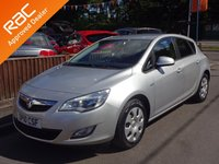 USED 2010 10 VAUXHALL ASTRA 1.6i EXCLUSIV 5DOOR, 2 OWNERS *LOW MILES*VAUXHALL SERVICE HISTORY*DRIVE AWAY*