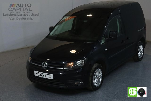 2016 66 VOLKSWAGEN CADDY 2.0 C20 TDI HIGHLINE SWB AUTO 101 BHP EURO 6 AIR CON REAR PARKING SENSORS, FOG LIGHT, ALLOY WHEEL