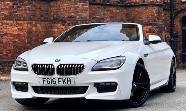2016 16 BMW 6 SERIES 3.0 640D M SPORT 2d AUTO 309 BHP [ M PLUS ]