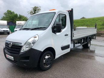 2015 VAUXHALL MOVANO L4H1 DROPSIDE TAIL LIFT 125PS £8995.00
