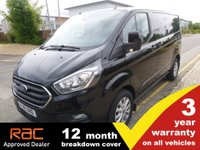 USED 2018 18 FORD TRANSIT CUSTOM 300 SWB L1 Limited Custom (EURO 6) New Shape