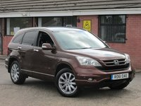 2011 HONDA CR-V 2.2 I-DTEC EX (SAT NAV+LEATHER) 5dr £6490.00