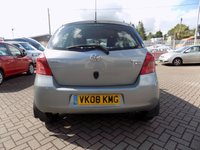 USED 2008 08 TOYOTA YARIS 1.3 T SPIRIT VVT-I 5d 86 BHP Excellent condition with very low mileage and a full service history.