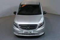 USED 2018 18 MERCEDES-BENZ VITO 2.1 114 BLUETEC TOURER SELECT LWB 136 BHP 9 SEATER MINIBUS AUTO AIR CON EURO 6 £24,490+VAT, MANUFACTURE WARRANTY UNTIL 19/03/2021