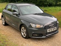 USED 2015 15 AUDI A1 1.4 SPORTBACK TFSI SPORT 5d AUTO 123 BHP F/A/S/H, 1 Owner, Low Mileage