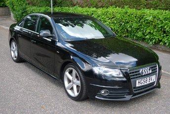 2008 AUDI A4 1.8 TFSI S LINE 4d 158 BHP £6450.00
