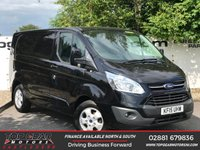 USED 2015 15 FORD TRANSIT CUSTOM 290 2.2 125 BHP LIMITED **85 VANS IN STOCK**