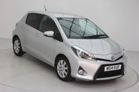 USED 2014 14 TOYOTA YARIS 1.5 HYBRID ICON PLUS 5d AUTO 61 BHP