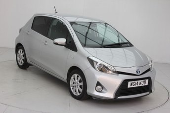 2014 TOYOTA YARIS 1.5 HYBRID ICON PLUS 5d AUTO 61 BHP £8840.00