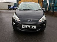 USED 2015 15 FORD KA 1.2 ZETEC 3d 69 BHP