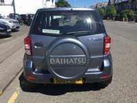 USED 2007 07 DAIHATSU TERIOS 1.5 S 5d 104 BHP OUR  PRICE INCLUDES A 6 MONTH AA WARRANTY DEALER CARE EXTENDED GUARANTEE, 1 YEARS MOT AND A OIL & FILTERS SERVICE. 6 MONTHS FREE BREAKDOWN COVER. CALL US NOW FOR MORE INFORMATION OR TO BOOK A TEST DRIVE ON 01315387070 !!