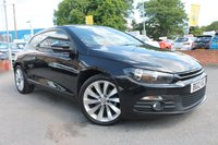 USED 2012 12 VOLKSWAGEN SCIROCCO 2.0 GT TDI BLUEMOTION TECHNOLOGY 2d 140 BHP FULL LEATHER - HEATED SEATS - SAT NAV - BLUETOOTH - HISTORY - ALLOYS
