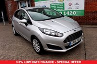 USED 2015 15 FORD FIESTA 1.5 STYLE TDCI 5d 74 BHP +ONE OWNER +FSH +DAB BLUETOOTH