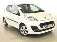 USED 2012 62 PEUGEOT 107 1.0 ALLURE 5d 68 BHP PRIVACY GLASS | ALLOYS |