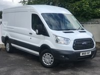 USED 2018 18 FORD TRANSIT 350 RWD 2.0 130 BHP TREND L3 H2  P/V**CHOICE OF 85 VANS**