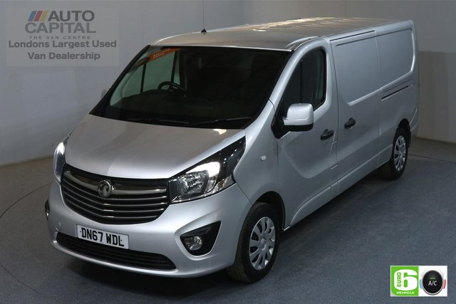 2017 67 VAUXHALL VIVARO 1.6 L2H1 LWB LOW ROOF 2900 SPORTIVE CDTI 120 BHP AIR CON EURO 6  MANUFACTURE WARRANTY UNTIL 29/10/2020