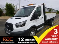 USED 2017 17 FORD TRANSIT TIPPER 350 L2 DRW 130ps 1-Stop