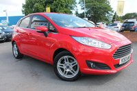 USED 2013 63 FORD FIESTA 1.2 ZETEC 5d 81 BHP JUST ONE OWNER FROM NEW - FULL HISTORY - LOW MILES - BLUETOOTH - AUX - USB