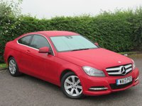 USED 2013 13 MERCEDES-BENZ C CLASS 2.1 C220 CDI BLUEEFFICIENCY EXECUTIVE SE 2d * LOW MJLEAGE * SPORTS * FULL LEATHER INTERIOR *
