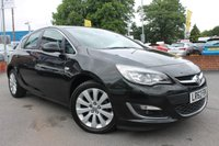 USED 2012 62 VAUXHALL ASTRA 1.6 SE 5d 113 BHP LOW MILES - GREAT SERVICE HISTORY - ALLOY WHEELS - HALF LEATHER - BLUETOOTH - BEAUTIFUL EXAMPLE