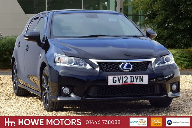 2012 12 LEXUS CT 1.8 200H F SPORT 5d AUTO 136 BHP NAVIGATION REAR CAMERA FULL HEATED LEATHER DAB PDC