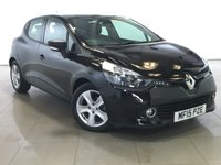 USED 2015 15 RENAULT CLIO 1.5 EXPRESSION PLUS ENERGY DCI S/S 5d 90 BHP 1 OWNER | BLUETOOTH | AIR CON