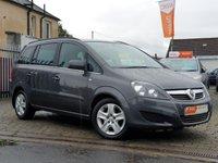 2010 VAUXHALL ZAFIRA 1.7 EXCLUSIV CDTI ECOFLEX 5d 108 BHP £3995.00