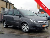USED 2010 60 VAUXHALL ZAFIRA 1.7 EXCLUSIV CDTI ECOFLEX 5d 108 BHP AS ALWAYS ALL CARS FROM EDINBURGH CAR STORE COME WITH 1 YEARS FULL MOT ,1 FULL RAC INSPECTION SERVICE AND 6 MONTH RAC WARRANTY INCLUDING  12 MONTHS RAC BREAKDOWN RECOVERY FREE OF CHARGE!      PLEASE CALL IF YOU DONT SEE WHAT YOUR LOOKING FOR AND WE WILL CHECK OUR OTHER BRANCHES.  WE HAVE  OVER 100 CARS IN DEALER STOCK