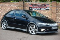 USED 2007 07 HONDA CIVIC 2.2 I-CTDI TYPE-S GT 3d 139 BHP
