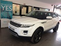 "USED 2013 13 LAND ROVER RANGE ROVER EVOQUE 2.2 ED4 PURE TECH 5d 150 BHP This Evoque is finished in Fuji White with Black electric heated leather seats. It is fitted with power steering, power tailgate, remote locking, power folding mirrors & 4 electric windows, dual zone climate control, cruise control, front and rear parking sensors, Bluetooth,  Anthracite grey 19"" alloy wheels, Meridian speaker upgrade, DAB CD Stereo with Aux & USB/ipod ports and more. It has had two owners from new. It comes with a full service history from Land Rover."