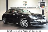 """USED 2012 12 MERCEDES-BENZ C CLASS 6.2 C63 AMG 4DR AUTO 457 BHP full service history *NO ADMIN FEES* FINISHED IN STUNNING OBSIDIAN BLACK WITH FULL LEATHER INTERIOR + FULL SERVICE HISTORY + COMAND SATELLITE NAVIGATION + BLUETOOTH + PANORAMIC SUNROOF + HEATED SEATS WITH MEMORY + AMG STYLING PACKAGE-FRONT SPOILER, SIDE SKIRT + CRUISE CONTROL + ELECTRIC FOLDING MIRRORS + RAIN SENSORS + LED DAYTIME RUNNING LIGHTS + PARKING SENSORS + 18"""" ALLOY WHEELS"""