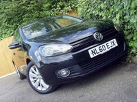 2010 VOLKSWAGEN GOLF 1.6 BLUEMOTION SE TDI 3d 103 BHP £4999.00