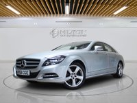 "USED 2013 63 MERCEDES-BENZ CLS CLASS 3.0 CLS350 CDI BLUEEFFICIENCY 4d AUTO 265 BHP SAT NAV | LEATHERS | 18"" ALLOYS 