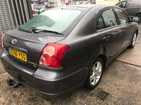 USED 2006 56 TOYOTA AVENSIS 1.8 T3-X VVT-I 5d 127 BHP PLEASE READ FULL DESCRIPTION AND SEE PHOTOS