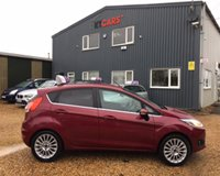 USED 2013 13 FORD FIESTA 1.0 TITANIUM 5d 99 BHP MOT 18th June 2020... £0 Road Tax... Demo + 1 Lady Owner.... Cost over £16k New!... Just been serviced.... Group 11 Insurance... Bluetooth... Cruise Control... 2 Remote Keys.... Warranty with Recovery Included