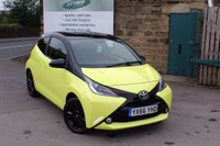 USED 2016 66 TOYOTA AYGO 1.0 VVT-I X-CITE 3 3d 69 BHP One Owner ZERO Rate Road Tax