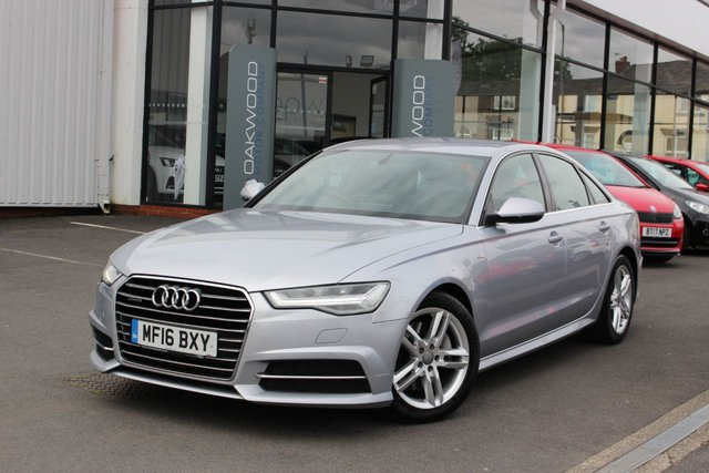 USED 2016 16 AUDI A6 SALOON 3.0 TDI V6 S line S Tronic quattro 268 BHP (s/s) 4dr