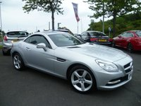 USED 2012 62 MERCEDES-BENZ SLK 2.1 SLK250 CDI BLUEEFFICIENCY 2d AUTO 204 BHP FULL MERCEDES SERVICE HISTORY, LOW MILEAGE, ST NAV, CRUISE CONTROL,
