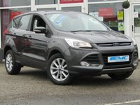 USED 2016 16 FORD KUGA 2.0 TITANIUM TDCI 5d 177 BHP STUNNING, 1 Owner, FORD KUGA 2.0 TDCI, TITANIUM, 177 BHP, 4X4. Finished in MAGNETIC GREY METALLIC with contrasting part LEATHER TRIM. This Kuga is a great choice if you like driving. It's one of the most enjoyable, practical and fun family SUV's around. Features include Sat Nav, DAB, Auto Parking, Rear View Camera, B/Tooth and much more.
