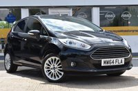 USED 2014 64 FORD FIESTA 1.0 TITANIUM 5d 99 BHP NO DEPOSIT FINANCE AVAILABLE