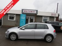 USED 2013 62 VOLKSWAGEN GOLF 1.2 S TSI BLUEMOTION TECHNOLOGY 5DR 85 BHP
