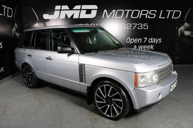 2007 57 LAND ROVER RANGE ROVER 3.6 TDV8 VOGUE SE AUTO 272 BHP (FINANCE AND WARRANTY)