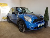 USED 2010 60 MINI COUNTRYMAN 1.6 COOPER S 5d 184 BHP FULL SERVICE HISTORY 6 STAMPS IN THE SERVICE BOOK