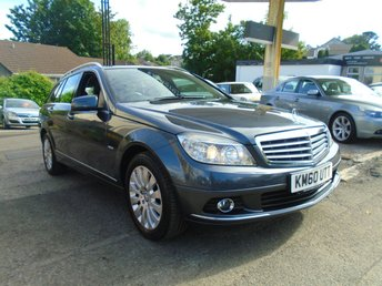 2011 MERCEDES-BENZ C CLASS 2.1 C220 CDI BLUEEFFICIENCY ELEGANCE 5d AUTO 170 BHP £5995.00