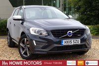 USED 2015 15 VOLVO XC60 2.0 D4 R-DESIGN LUX NAV 5d AUTO 178 BHP NAVIGATION POWER TAILGATE BLUETOOTH PDC DAB FULL LEATHER