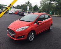 USED 2013 63 FORD FIESTA 1.0 ZETEC ECOBOOST (100PS) THIS VEHICLE IS AT SITE 1 - TO VIEW CALL US ON 01903 892224
