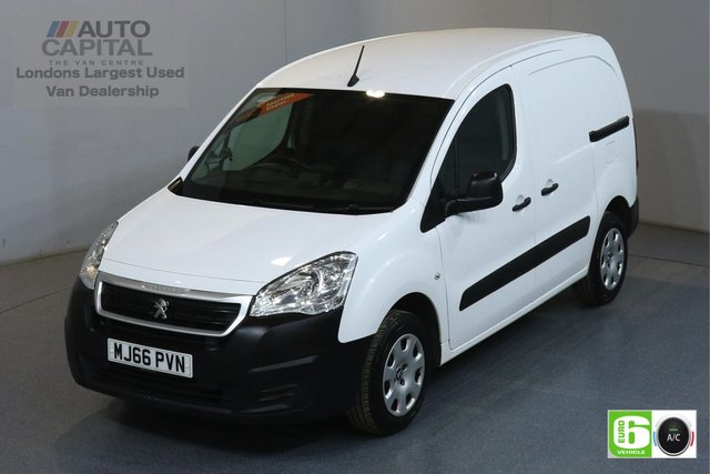 2016 66 PEUGEOT PARTNER 1.6 BLUE HDI PROFESSIONAL SWB 100 BHP EURO 6 AIR CON AIR CONDITIONING, CRUISE CONTROL, EURO 6 ENGINE