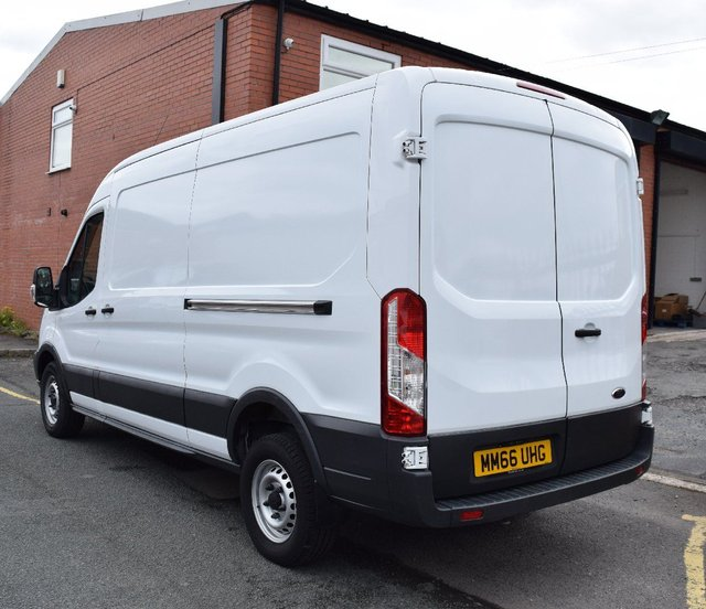Used Ford Transit In Widnes Cheshire: 2016 Ford Transit 350 L3 H2 P/V Drw £14,249